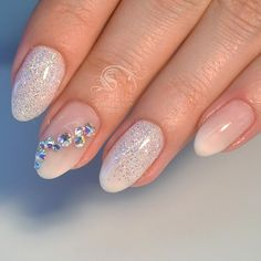 Babyboom, Swarovski Nails Light elegance Diamond glitter Si'Belle Nails