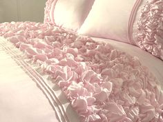 gpink ruffle bedding | ... & DIY > Bedding > Bed Linens & Sets > Bedding Sets & Duvet Covers