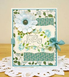 FS204 Vintage Floral by sleepyinseattle - Cards and Paper Crafts at Splitcoaststampers