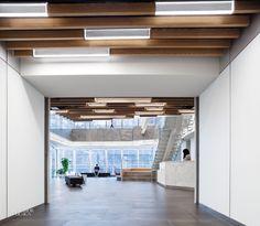Firm: Jennifer Carpenter Architect. Project: MediaMath, New York. Photography by Barkow Photo.