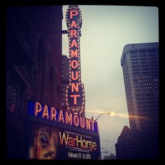 Paramount Theatre in Seattle, WA