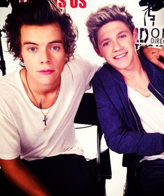onedirection: Harry and Niall 1DHQ x
