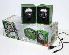 heineken memorabilia | Heineken Speaker Crates Make Big Splash - ePromos Promotional Blog