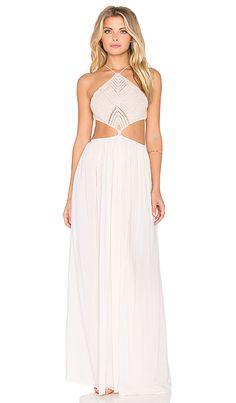 Indah Revel Maxi Dress in Peach | REVOLVE