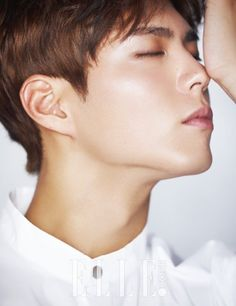 """'Elle' has released an interview and handsome cuts of trending actor Park Bo Gum!When asked about his ideal type, Park Bo Gum answered, """"… Korean Celebrities, Korean Actors, Asian Actors, Kim Yoo Jung Park Bo Gum, We Heart It, Park Go Bum, Song Joong, Kbs Drama, Park Seo Joon"""
