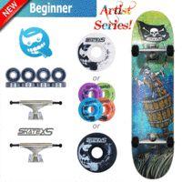 SkateXS Pirate Beginner Skateboard for Kids