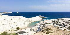 Traumstrand Sarakiniko auf Milos, Griechenland @ Marlene Haider / Restplatzboerse.at Paros, Hotels, Strand, Beach, Water, Outdoor, Greece, Travel Advice, World