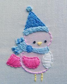 Stitchy Stitcherson: Tinted Stitchery
