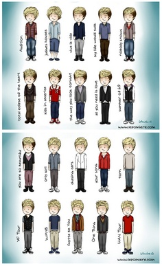 the looks of niall horan