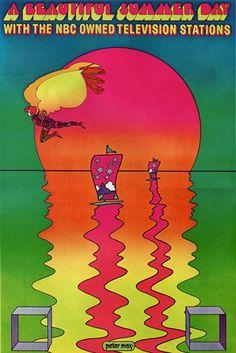 1970, Peter Max : NBC