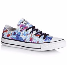 New with Box Converse Chuck Taylor All Star Daisy Print Sneakers Shoes, W7.5