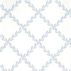 Edith tapeten har en enkel och fin design och kommer i tre olika färger, blå, grå samt grön. Tapetens utformande gör att rummet får ett vackert och sobert utseende.