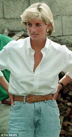 Diana in August 1997, the month she died