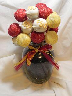FSU cake pops by darlingdesserts, via Flickr
