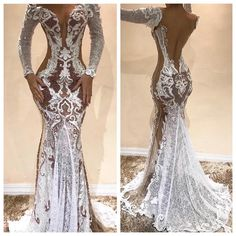 This sexy long sleeve gown can be recreated for you for any formal occasion. We make custom #weddingdresses, #eveninggowns and #replicas of couture designer #dresses too. We can work from any picture you have to make your dream dress come to life in a price range you can afford. DariusCordell.com