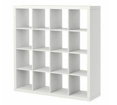 I really really want this Ikea bookcase. Why doesn't Ikea have wedding registries? Ikea Expedit Bookcase, Expedit Regal, Cube Bookcase, Bookcase Storage, Ikea Shelves, Ikea Kallax, Bookcase White, Room Shelves, Shelving Units