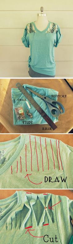 ABCDIY: 16 Upcycled and Refashioned TShirt DIY