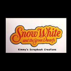 A personal favorite from my Etsy shop https://www.etsy.com/listing/515049451/snow-white-scrapbook-title-premade-paper
