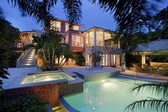 That's gonna be my pool. Good House, My House, Awesome House, Amazing Houses, Amazing Cars, My Pool, Favim, House Goals, Life Goals