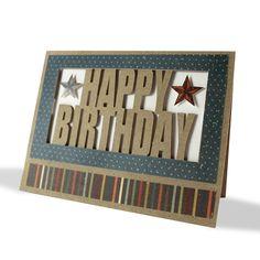 Happy Birthday Cameo Card