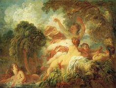 The Bathers - Jean-Honore Fragonard