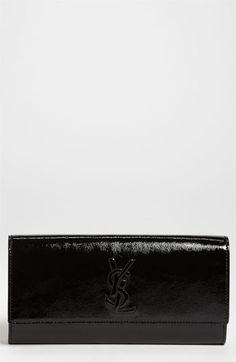 Yves Saint Laurent 'Belle de Jour' Clutch available at #Nordstrom MY FAVVVVVVVVVVVV!!!!!!!!!!! *A MUST HAVE* HINT HINT