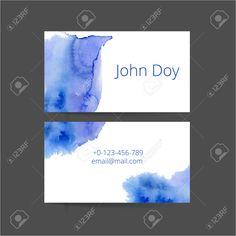 Set Bestehend Aus Zwei Kreative Visitenkarte Lizenzfrei Nutzbare Vektorgrafiken, Clip Arts, Illustrationen. Image 38044074.