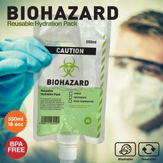 Biohazard Drinks Pouch