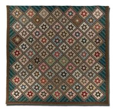 Star, signature quilt, Made by Rebecca Scattergood Savery, probably made in Philadelphia, Pennsylvania, United States, dated 1844, 118.5 x 1...