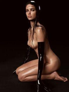 Adriana Lima Topless In Pirelli Calendar 2015