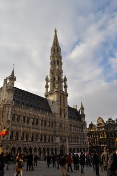 The Place on a Saturday Afternoon - Brussels, Belgium