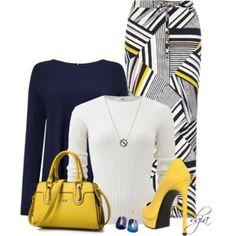 Dorothy Perkins Petite Blue Stripe Maxi Skirt