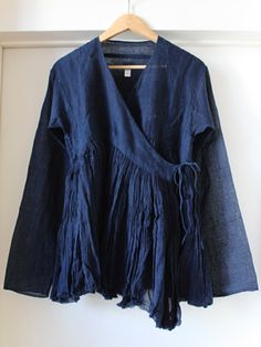 Indigo cotton, inspired by Rajasthan