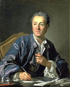 """""""Portrait of Denis Diderot"""" (Louis-Michel van Loo, oil on canvas). In the Musée du Louvre (Pavillon Sully, Floor), Paris. Atheist Quotes, Les Religions, Free Thinker, French Revolution, Victoria And Albert Museum, Atheism, Michel, Priest, Les Oeuvres"""