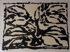 Mother And Father, Les Oeuvres, Printmaking, Animal Print Rug, Contemporary Art, Abstract Art, Images, Photos, Black And White