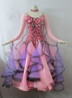 Ballroom dancing costume recital Demodoresu Item No. 0084