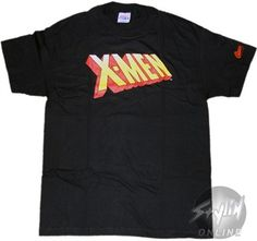 X Men Logo T Shirts