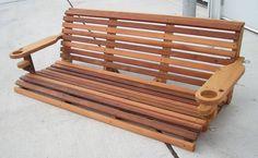 5' Classic Cedar Porch Swing
