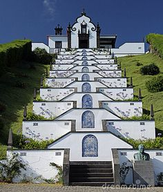 Azores church, in Sao Miguel