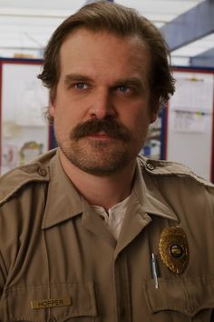 Warning: A LOT of spoilers for season three of Stranger Things ahead! Stranger Things season three did the unthinkable: it killed off Jim Hopper. David Harbour Stranger Things, Serie Stranger Things, Hopper Stranger Things, Stranger Things Aesthetic, Stranger Things Season 3, Stranger Things Netflix, Stranger Things Characters, Dan Cohen, Bobby