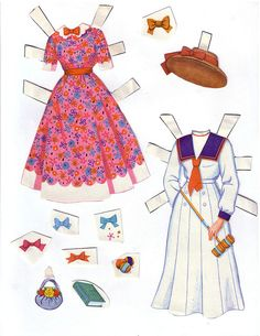 Hayley Mills - Summer Magic paper doll set (1963) 004 | Flickr - Photo Sharing!