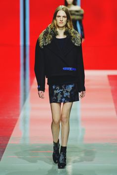 #2 Ashleigh Good walking LFW FW13