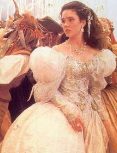Labyrinth-Sarah's ballgown Wanted to get married in this!