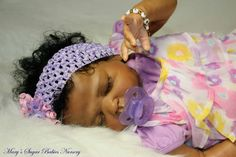 African American Reborn Baby Dolls | You can click here to see available Reborn Girls
