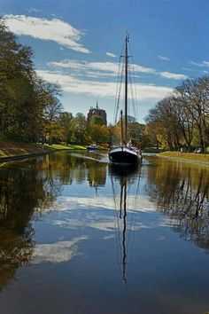 Prinsentuin, Leeuwarden, province Friesland, The Netherlands.