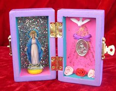 Lourdes pocket shrine