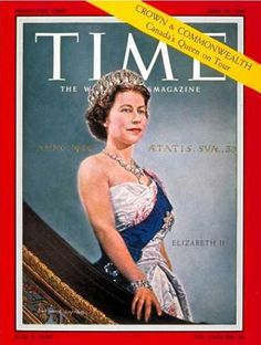 Queen Elizabeth II - Time Magazine [United States] (29 June 1959)