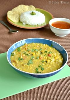 Cabbage Kootu / Cabbage Lentils Coconut Curry / Cabbage Dal Curry    vegetarian