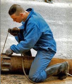 Hard Boy, Military Looks, Hard Hats, Working Man, Work Suits, Sports Activities, Get The Job, Real Man, Work Hard