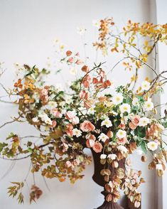 Gardening Autumn - Amanda Luu Ivanka Matsuba Flowering in San Francisco Ikebana, Floral Wedding, Wedding Bouquets, Wedding Flowers, Purple Bouquets, Brooch Bouquets, Green Wedding, Fall Wedding, Wedding Ceremony